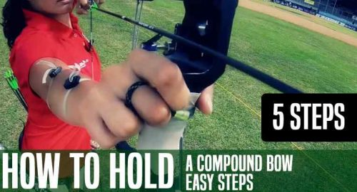 How to Hold a Compound Bow