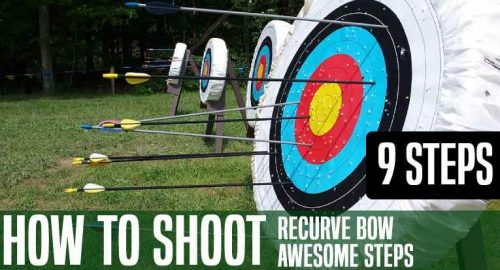 How to Shoot Recurve Bow